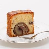 510種から選ばれた最高級くり使用パウンドケーキがんね栗の渋皮煮入り パウンドケーキ 華ka 岸根栗 がんね栗の里
